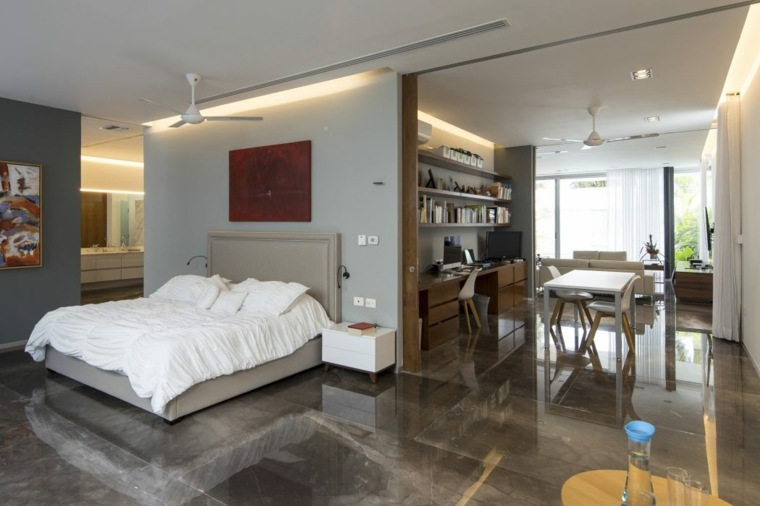 diseños de casas de un piso-augusto-quijano-arquitectos-dormitorio