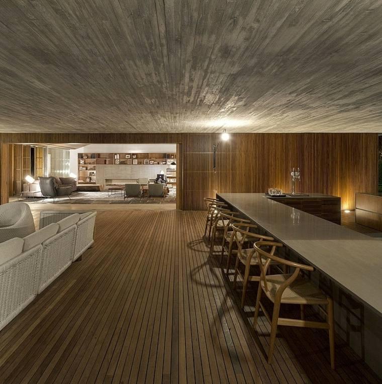 disenos-de-casas-de-un-piso-studiomk27-sala-interior-suelo-madera