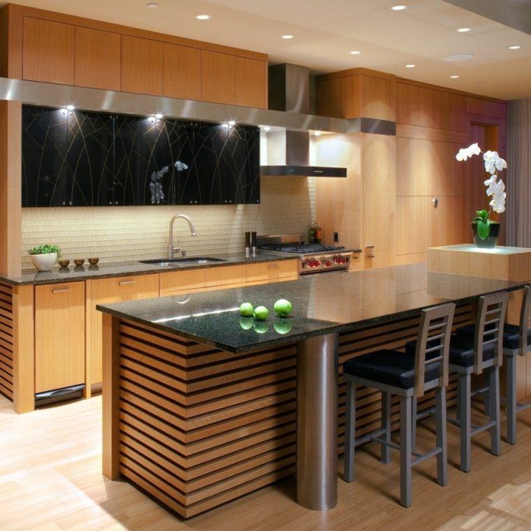 disenos de casas modernas-cocinas