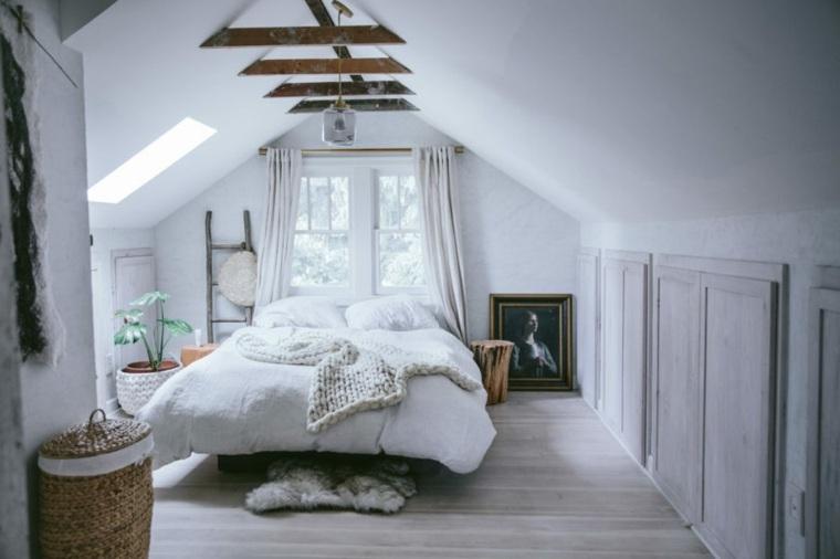 dormitorio-en-el-desvan-acogedor