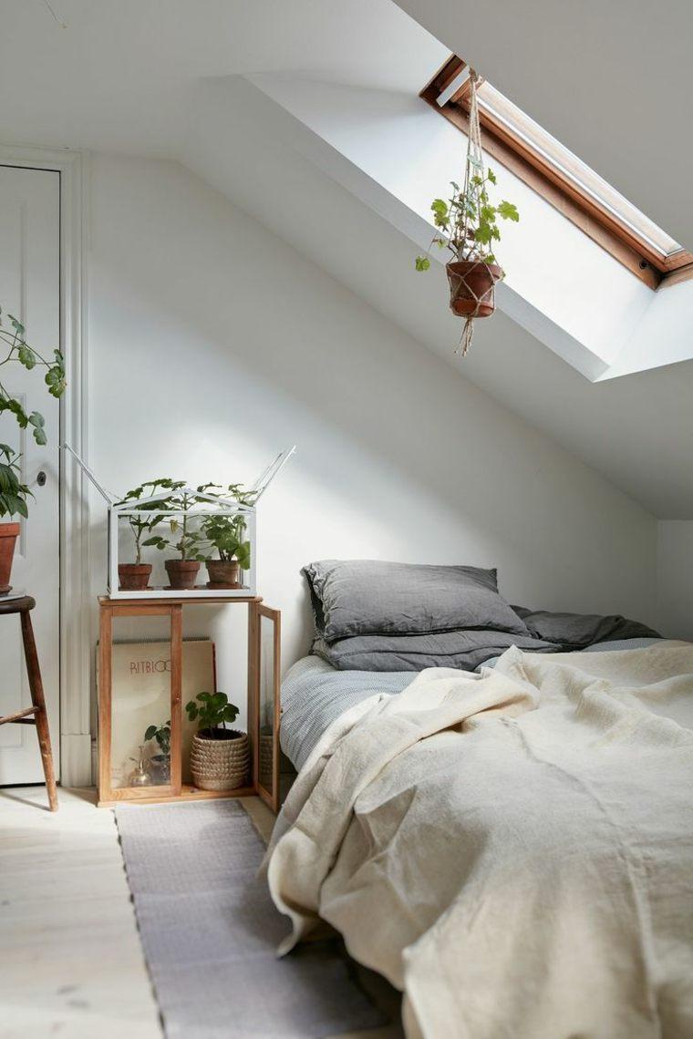 dormitorio-en-el-desvan-blanco