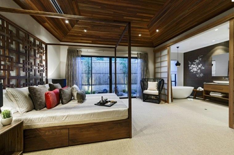 diseños de interiores asiáticos