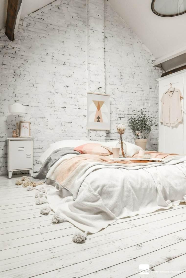 dormitorios en-el-desvan-blanco