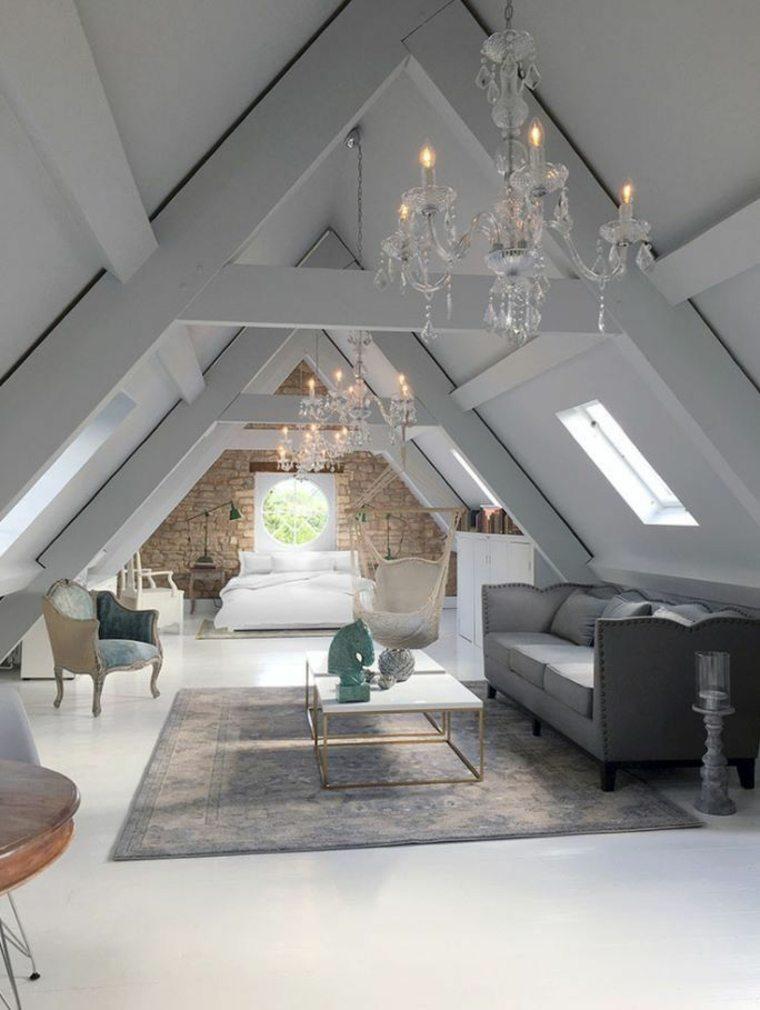 dormitorios en-el-desvan-modernos