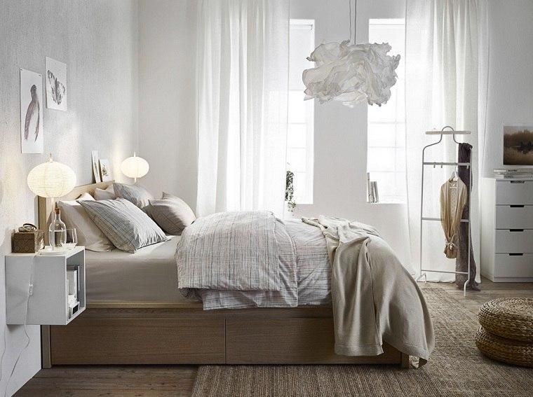 dormitorios ikea-mesitas-noche-flotantes