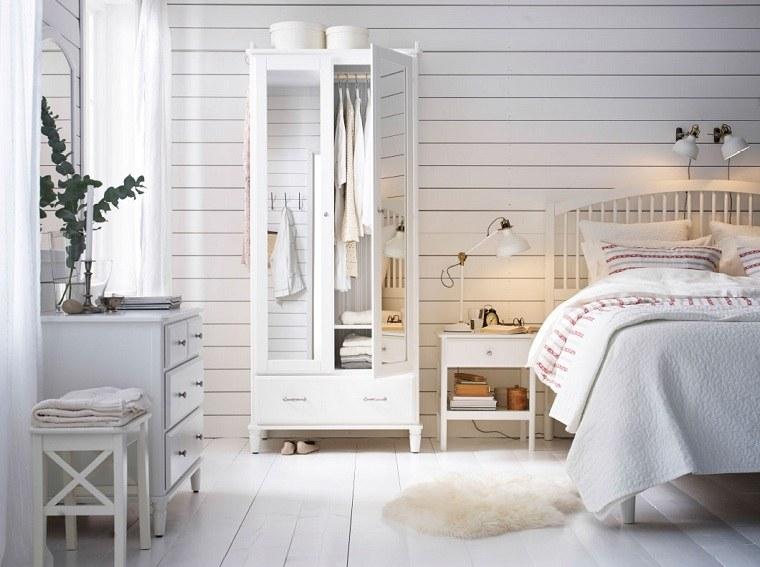 dormitorios-ikea-muebles-bellos-blanco-madera