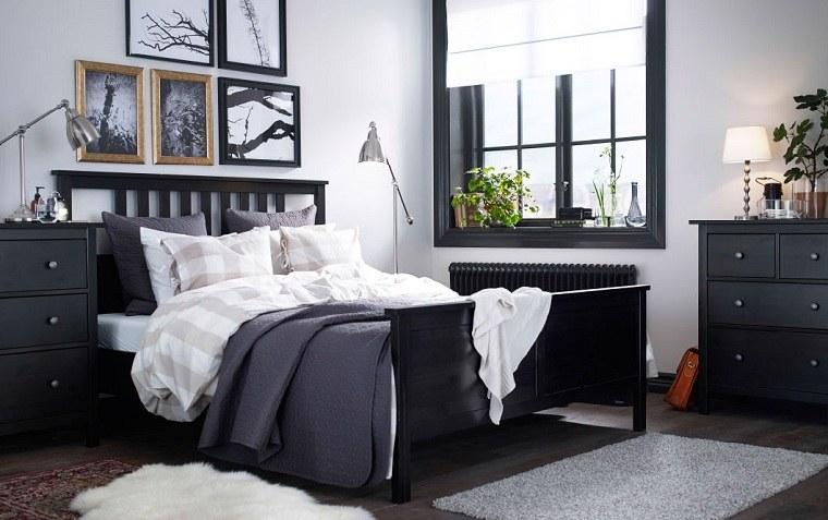 dormitorios-ikea-muebles-color-negro-diseno-origional
