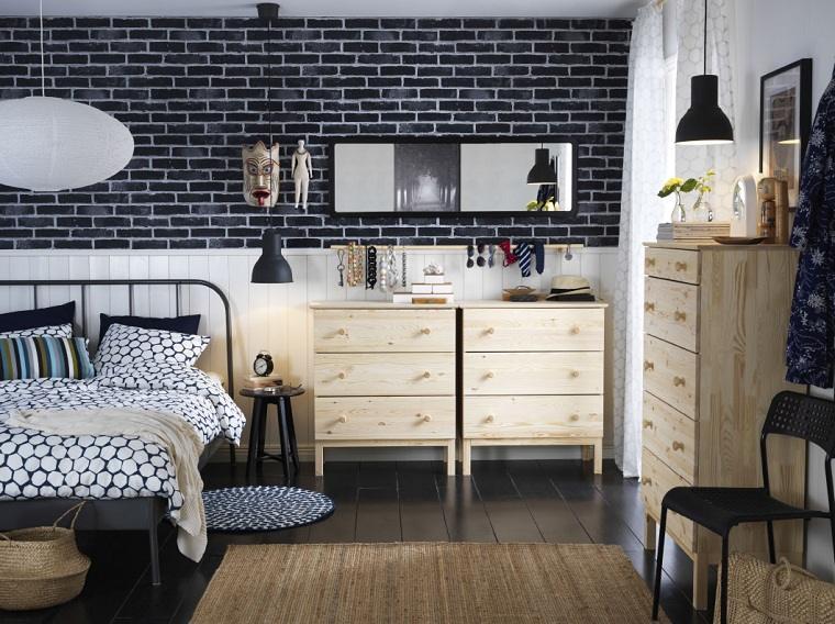 dormitorios-ikea-muebles-madera-natural-original