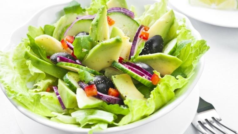 ensalada dietas saludables