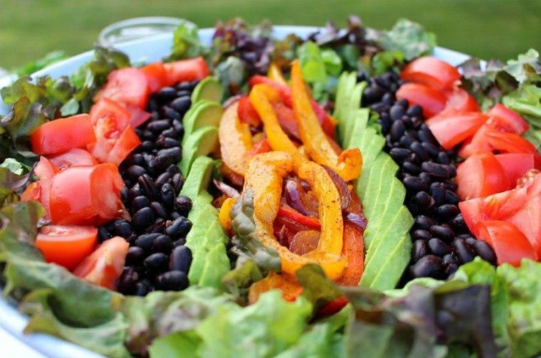 ensaladas frescas de-primavera