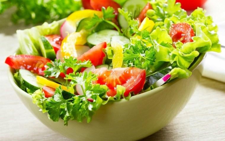 ensaladas frescas primavera