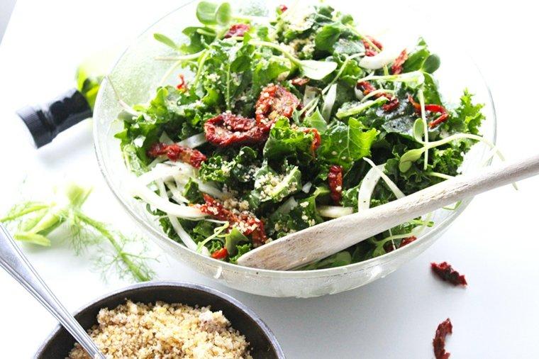 ensaladas frescas saludables