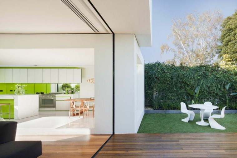 diseños de casas minimalistas de una planta
