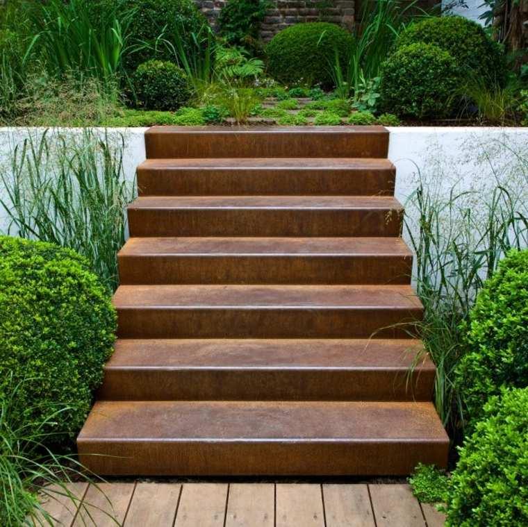 escaleras de Acero Corten