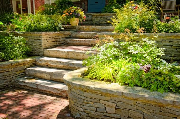escaleras para casas-jardines