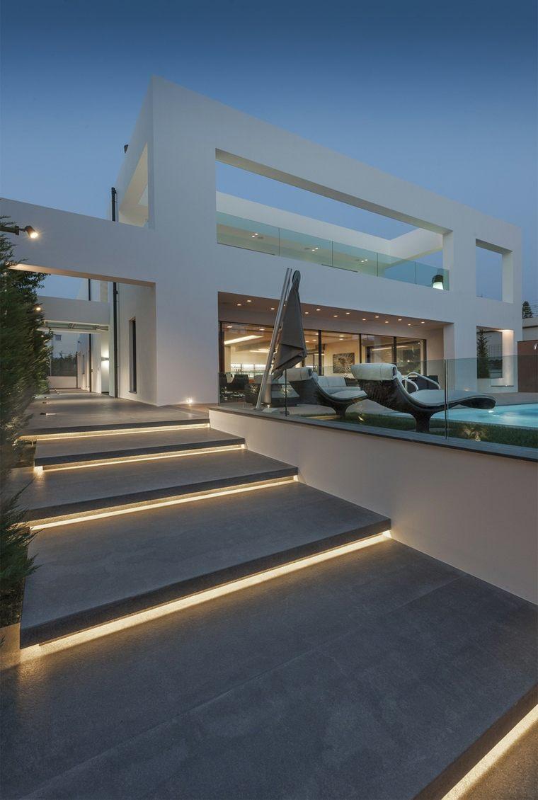 escaleras para casas-modernas-jardines