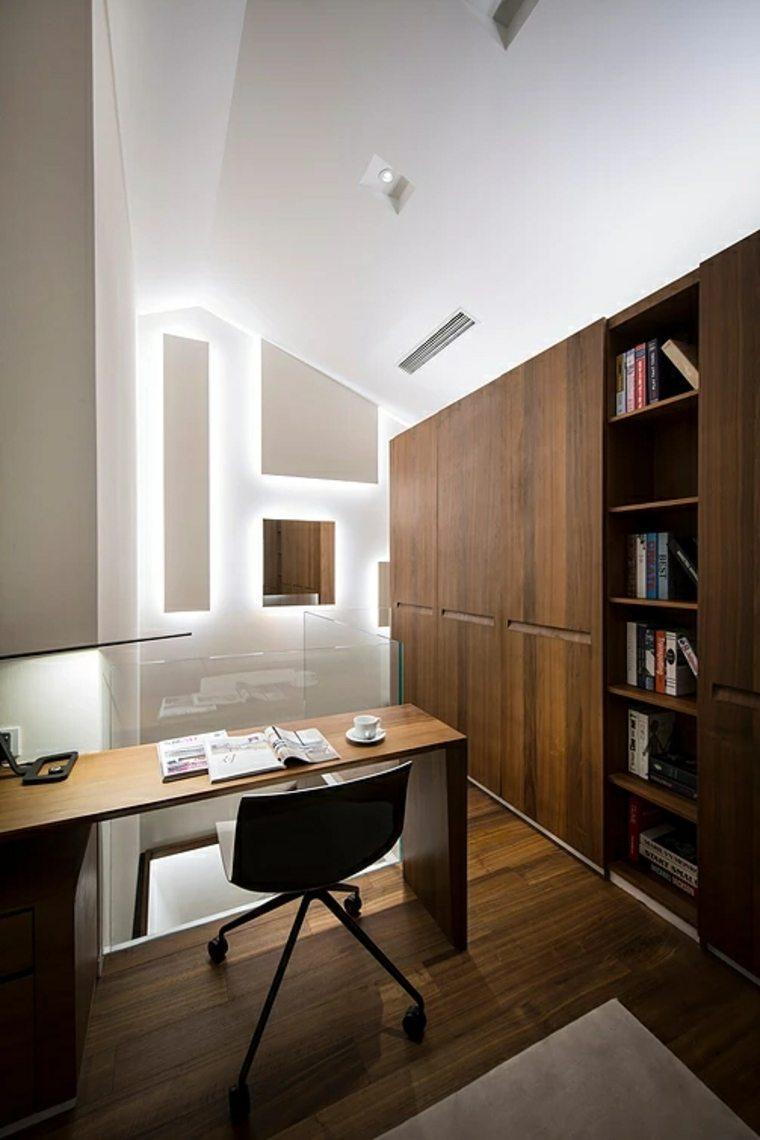 área de trabajo con un escritorio