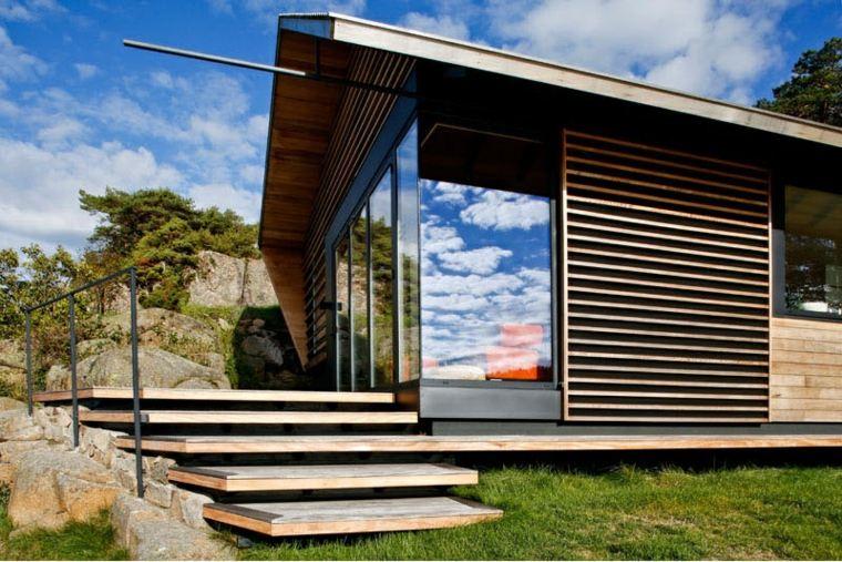 espacios acabados exteriores madera