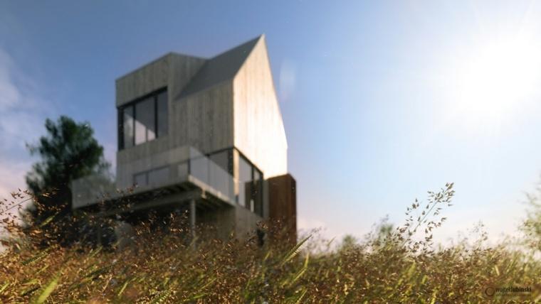 Arquitectura moderna - cabaña en Rabbit Snare Gorge