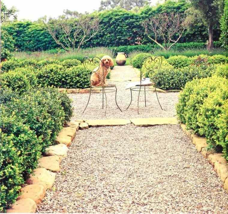 Jard n decorado con grava y guijarros ideas minimalistas de dise o - Jardin con grava ...