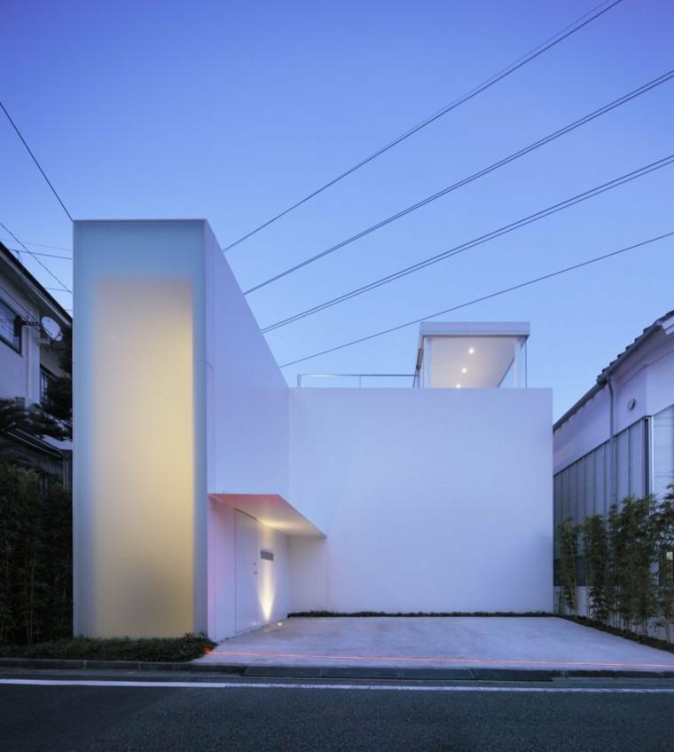 edificios de estilo minimalista