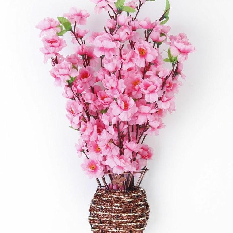 floreros de piso modernos-decorar-primavera