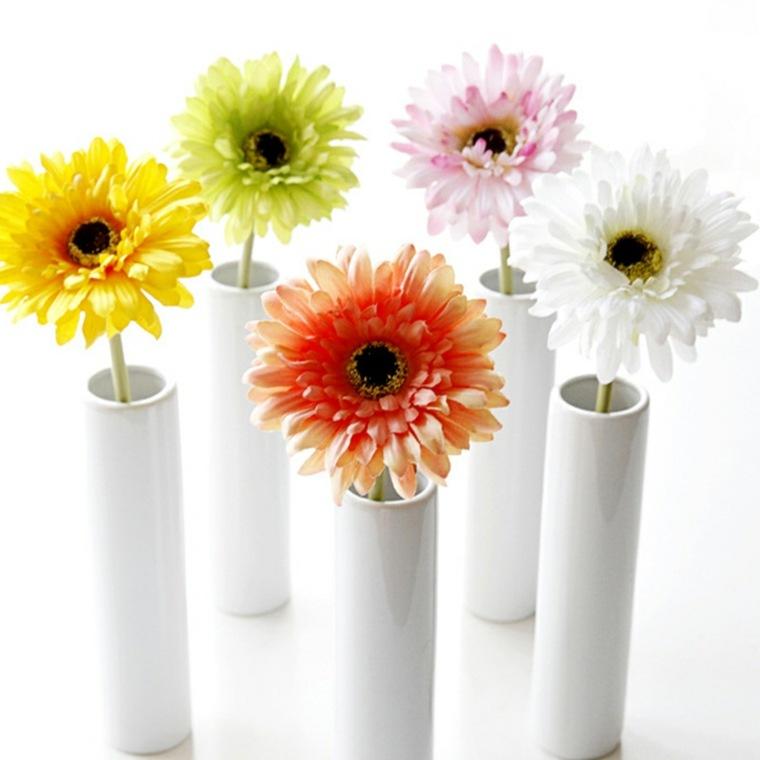 flores naturales-jarrones-decorar-interiores