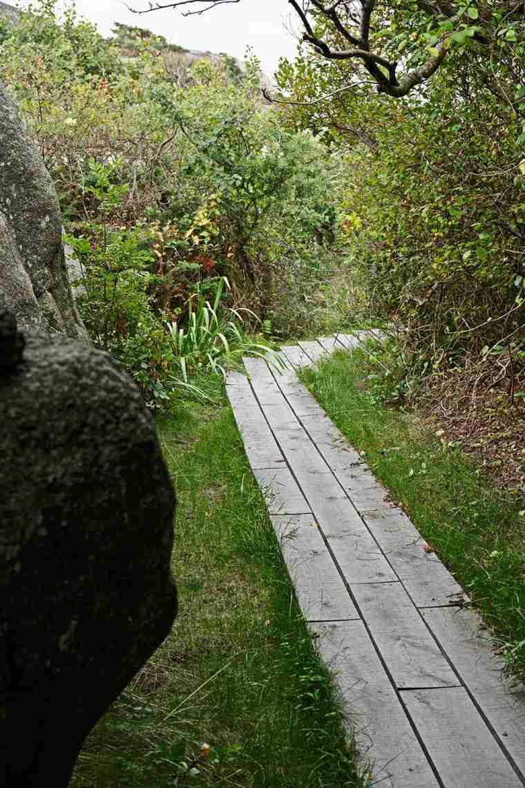 fotos de casas-Noruega-cabana-camino