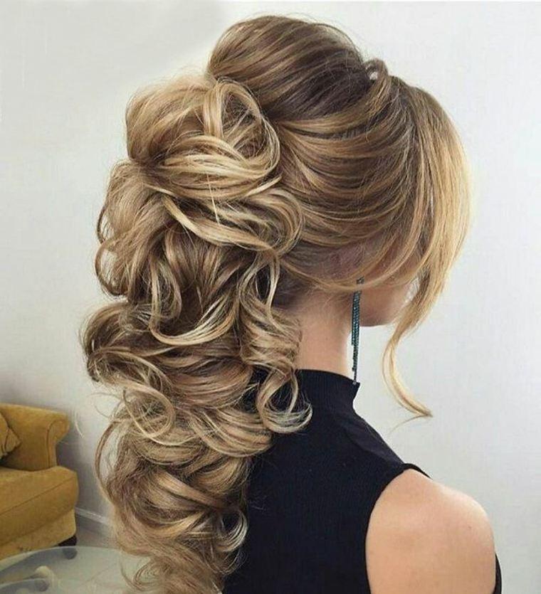 Sencillo y bonito fotos peinados Colección de tendencias de color de pelo - Peinados de novia modernos semirecogidos, por qué elegirlos