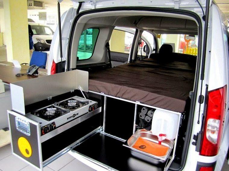 Ideas de diseño de interiores de furgoneta