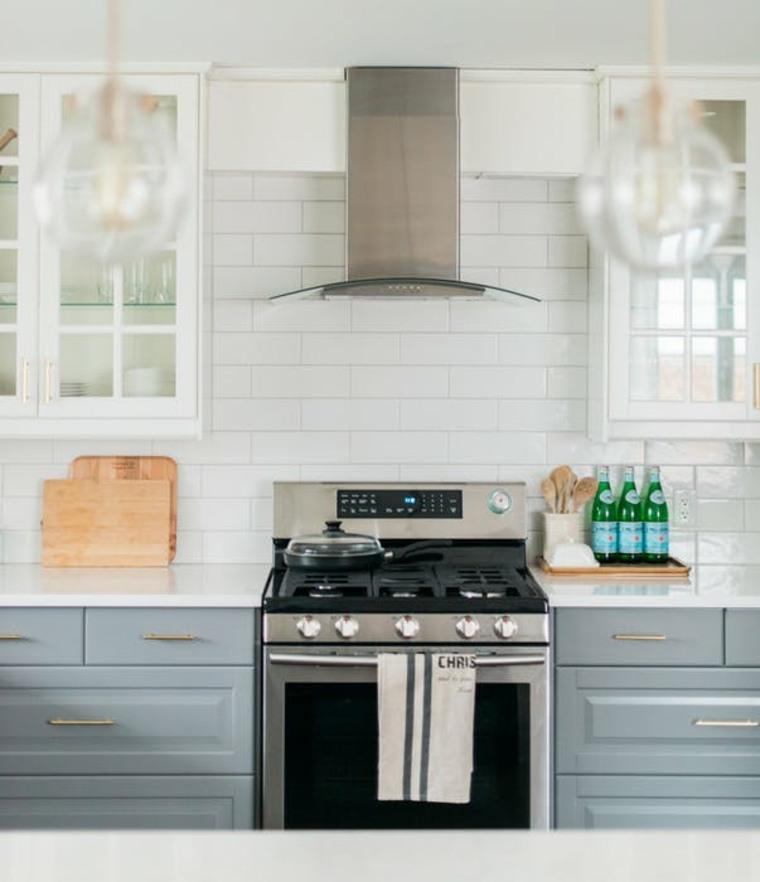 amplia gama de diseños de cocina