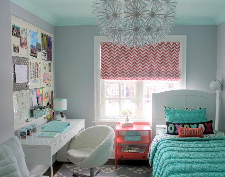 habitación-infantil-azul-y-rosa