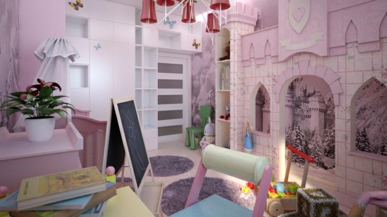 habitación-infantil-castillo