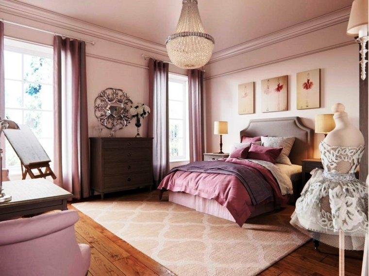 habitación-infantil-rosa-dos