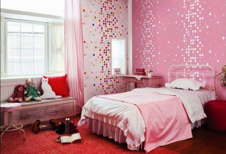 habitación-infantil-rosa