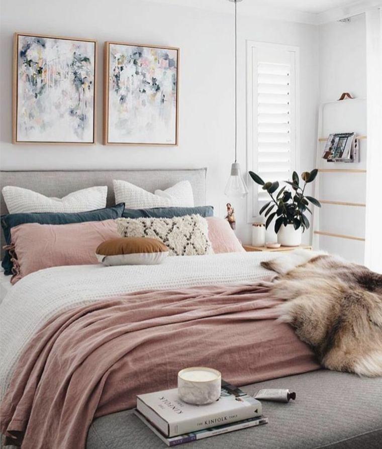 habitaciones modernas-decoradas-rosa