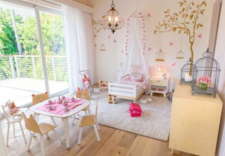 habitaciones para niñas modernas