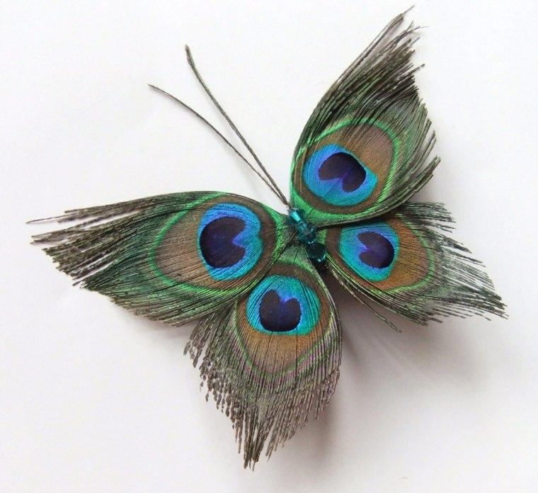 decorar con plumas