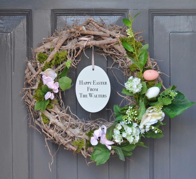 huevos de pascua-coronas-decorar-puerta