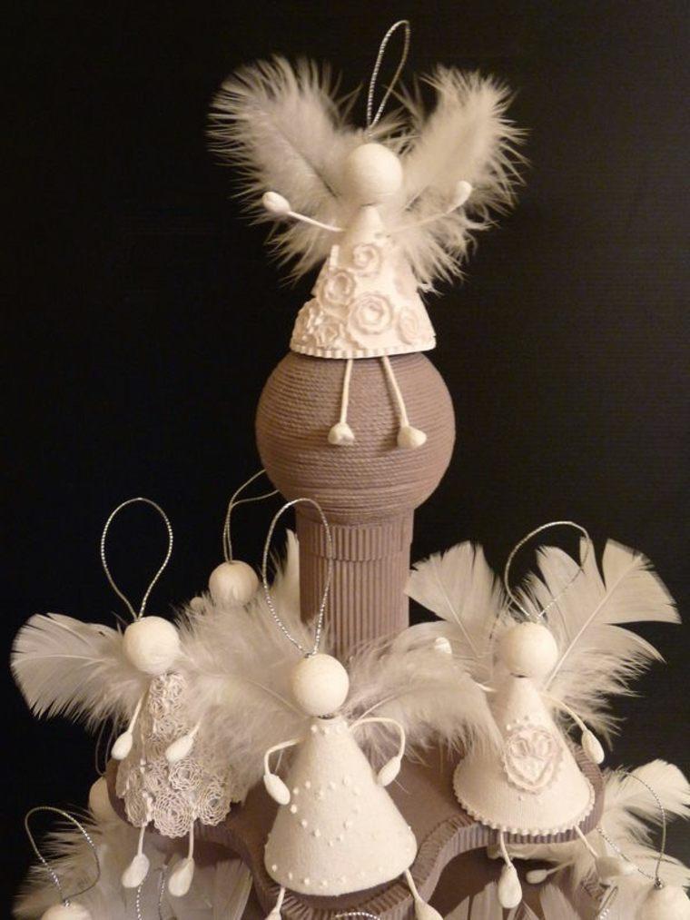 Originales angelitos decorativos Diy