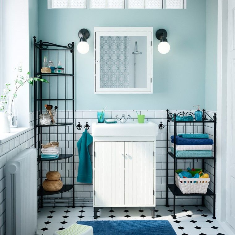 Muebles de baño Ikea 2018 - Diseños que garantizan calidad y comodidad -
