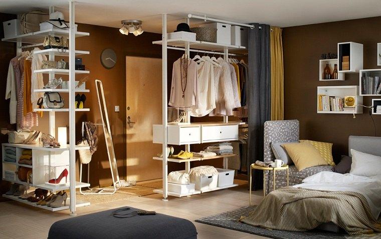 ideas-etsantes-dormitorio-colgar-ropa-estilo-moderno