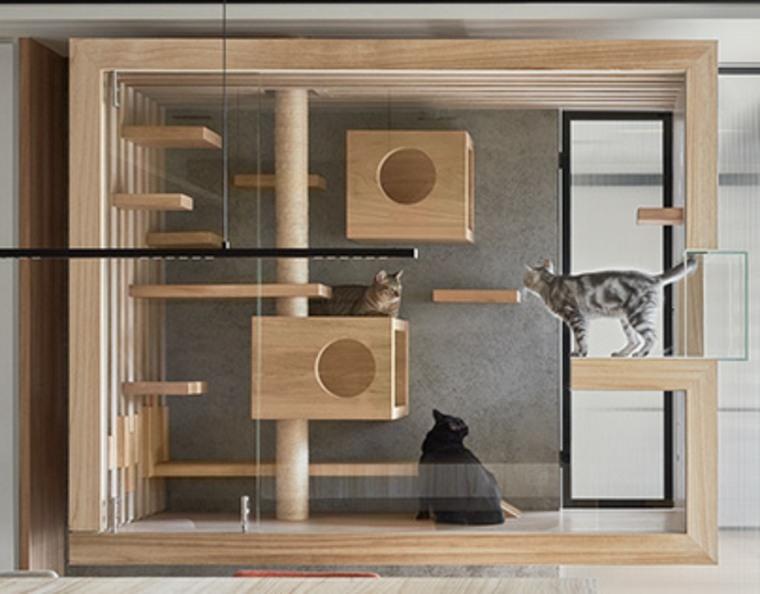 Gabinete para gatos de INDOT