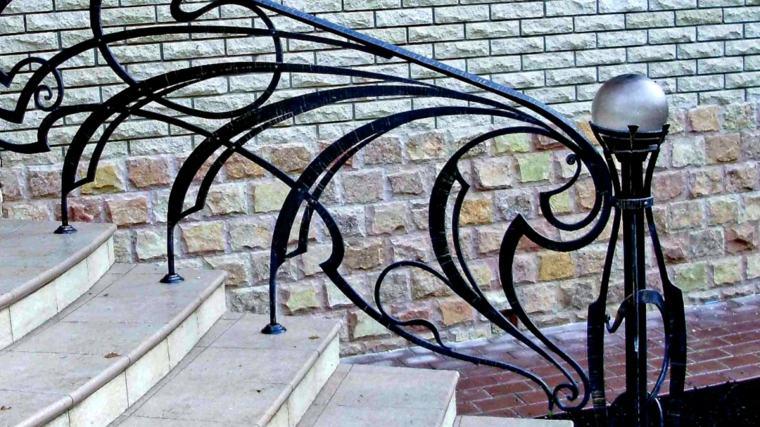 ideas para jardines-escaleras-barandillas