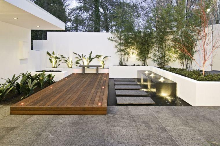 100 ideas para jardines minimalistas modernos e for Minimalistischer garten
