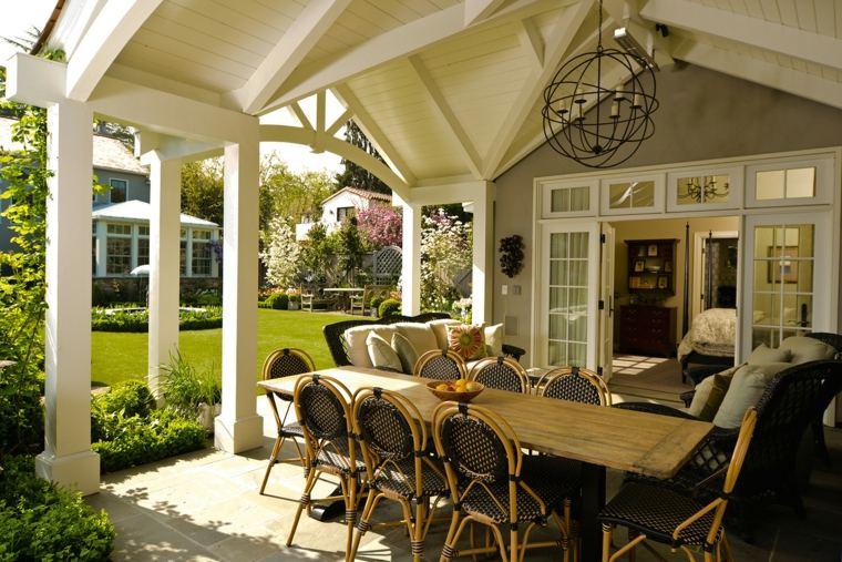ideas-techos-jardin-opciones-comedor aire libre
