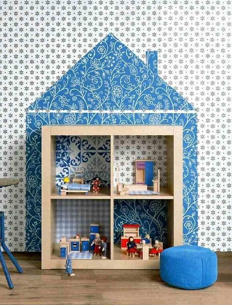 Encantadora casita de muñecas