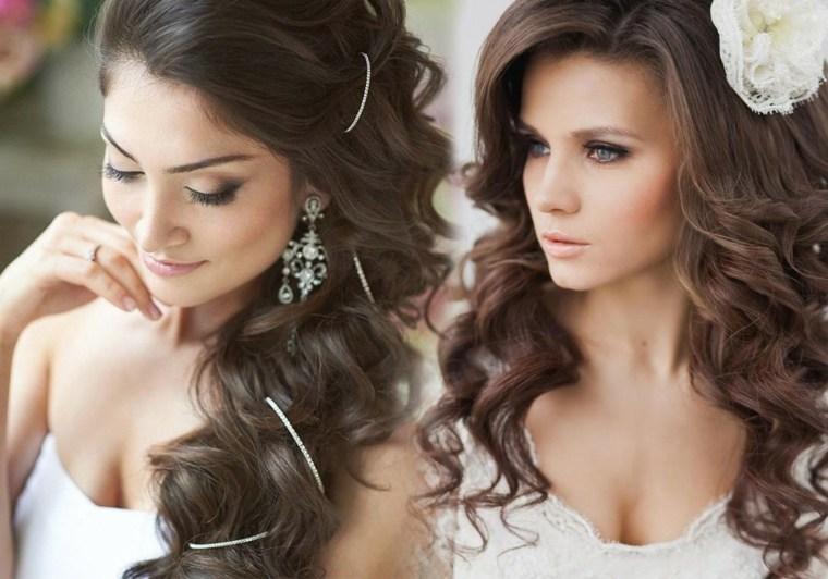 imagenes de peinados elegantes-novias