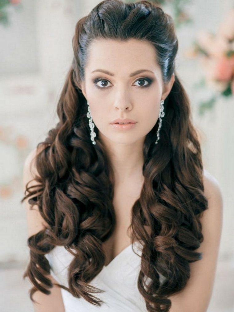 Peinados De Novia Modernos Semirecogidos Por Que Elegirlos