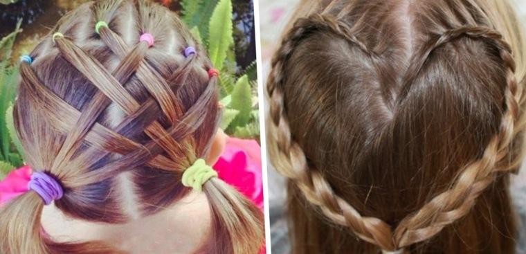 imagenes de peinados para ninas-originales